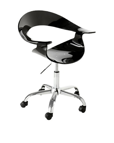 Sunpan Atelier Office Chair, Black