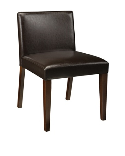Sunpan Set of 2 Colin Chairs, Espresso