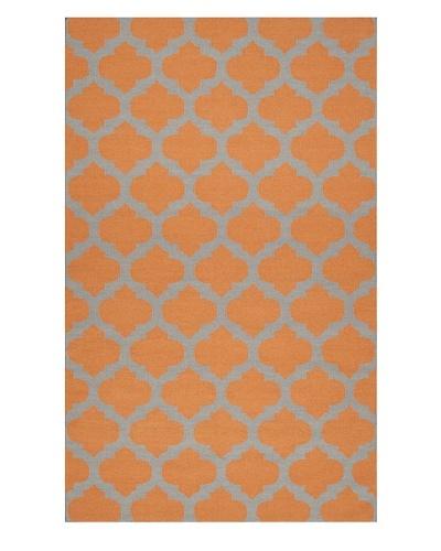 Surya Frontier Rug [Pumpkin/Flint Gray]