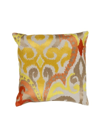 Surya Printed Throw Pillow, Mimosa