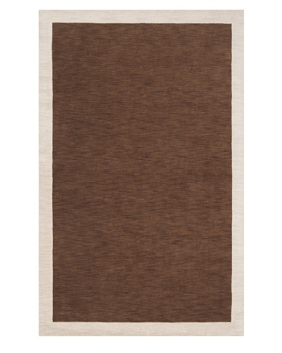 Surya Madison Square Rug [Coffee Bean, Parchment]