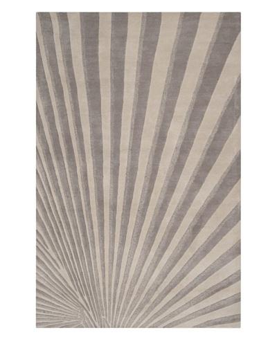 """Surya Candice Olson Modern Classics Rug, Oyster Grey/Tarragon, 2' 6"""" x 8'"""