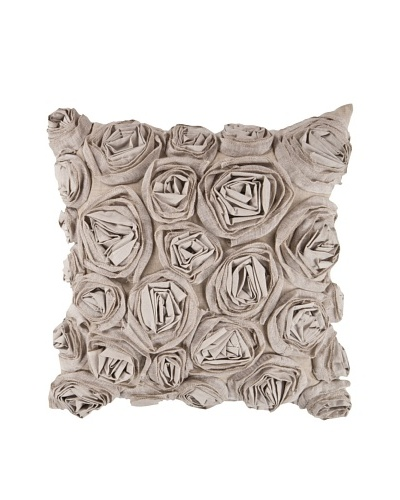 Surya Rosette Throw Pillow
