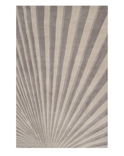 Surya Modern Classics Rug, Oyster Grey/Tarragon, 8' x 11'
