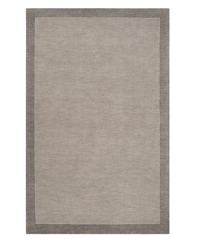 Surya Madison Square Rug, Pewter/Flint Gray, 5' x 7' 6As You See