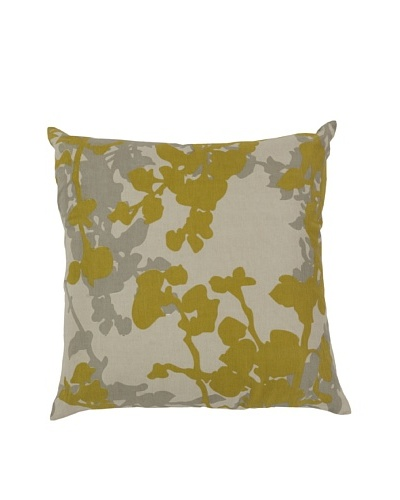 Surya Floral Throw Pillow