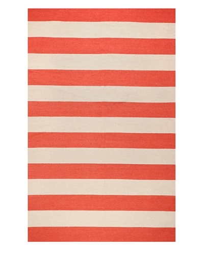 Surya Frontier Rug, Brick Red/Taupe Beige, 3' 6 x 5' 6