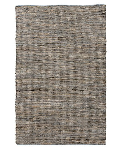 Surya Adobe Leather & Jute Rug