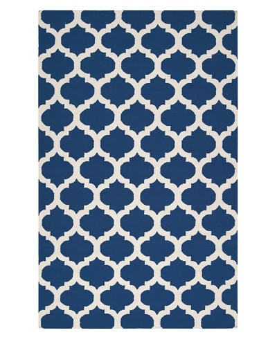 Surya Frontier Rug, Royal Blue/Ivory, 8' x 11'
