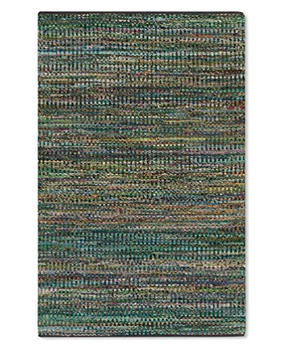 Surya Poem Rug, Neutral/Green/Violet, 2' x 3'