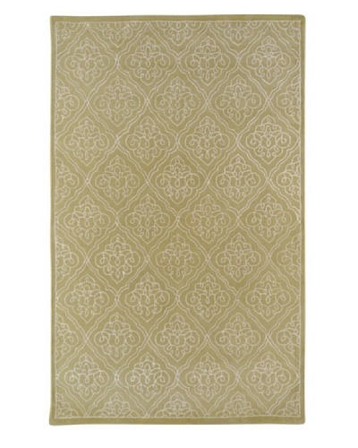 "Surya Candice Olson Modern Classics Rug, Pale Green/Ivory, 2' 6"" x 8'"