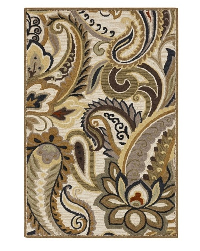 Surya Centennial Transitional Rug, Gray/Dark Taupe, 2' x 3'
