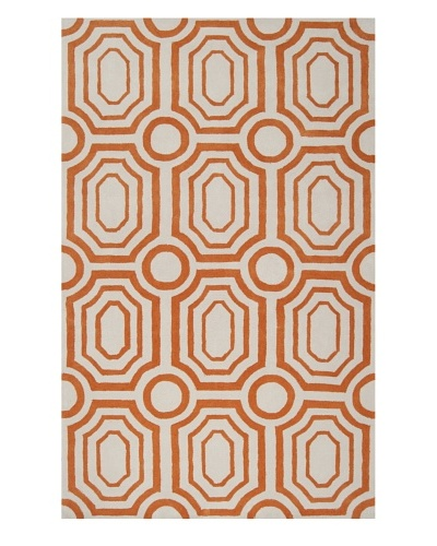 Surya Hudson Park Rug [Golden Ochre/Winter White]