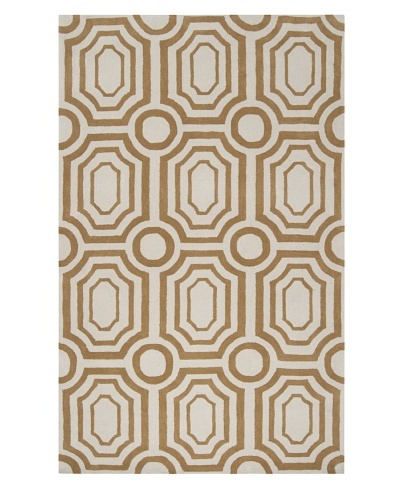 Surya Hudson Park Rug [Old Gold, Winter White]