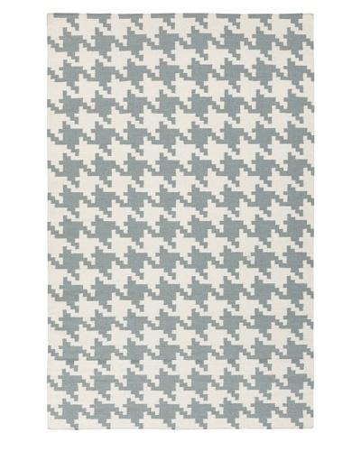 Surya Flatweave Rugs Frontier, Terra Cotta/White, 5' x 8'
