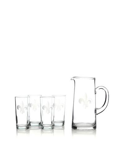 Susquehanna Glass 5-Piece Fleur-de-Lys Set