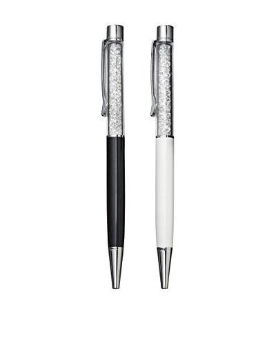 Swarovski Set of 2 Crystalline Lady Ballpoint Pens