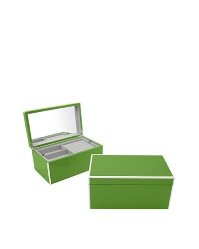 Swing Design Elle Lacquer Jewelry Box [Green]