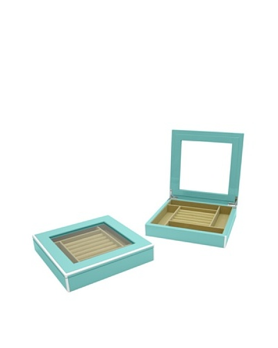 Swing Design Elle Lacquer Jewelry Display [Turquoise]