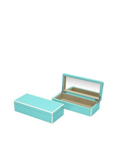 Swing Design Elle Lacquer Vanity Box [Turquoise]