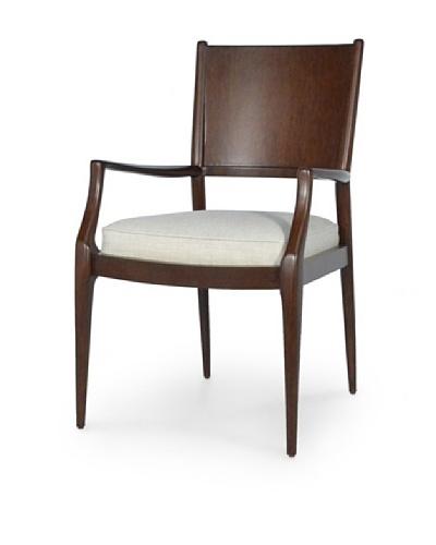 Palecek Arden Dining Arm Chair, Chestnut