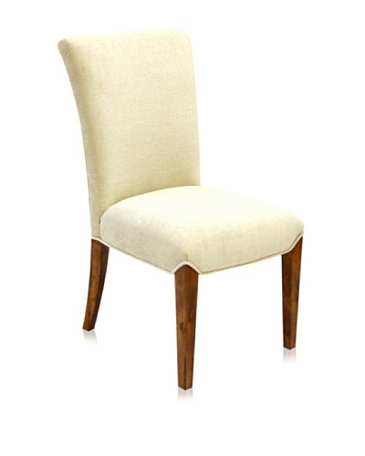 Armen Living Kennedy Side Chair, Cream
