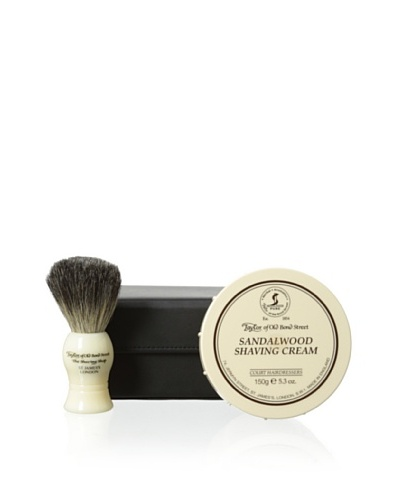 Taylor of Old Bond Street Luxury Shaving 2-Piece Set with Case