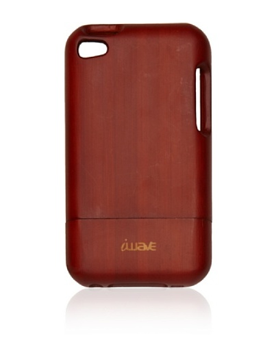 iWave iPod Touch 4 Bamboo Case , Cherry