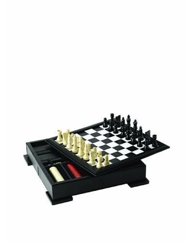Wolf Designs Chess/Backgammon Set