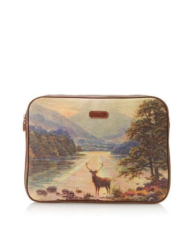 Ted Baker Stag Laptop Sleeve, Landscape