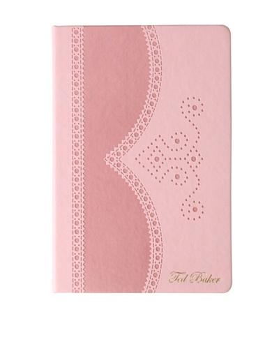Ted Baker Nude Brogue Notebook Medium, Nude