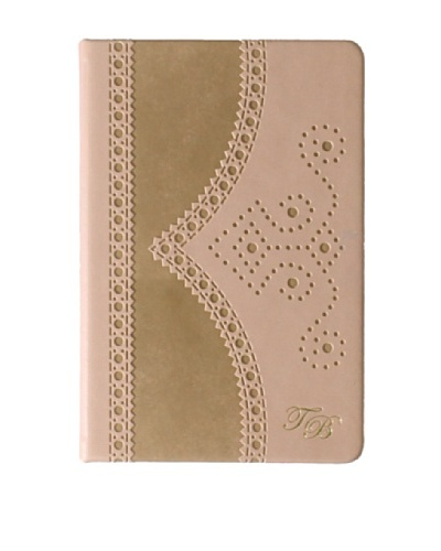 Ted Baker Mink Small Brogue Notebook