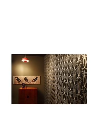 Tempaper Designs Bela Self-Adhesive Temporary Wallpaper [Midnight]