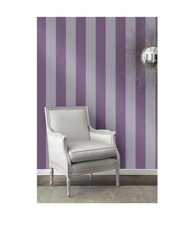 Tempaper Designs Stripe Self-Adhesive Temporary Wallpaper [Lilac]
