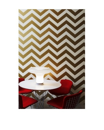 Tempaper Designs Zee Self-Adhesive Temporary Wallpaper [Gold]