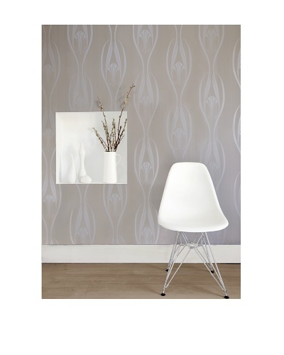 Tempaper Designs Etta Self-Adhesive Temporary Wallpaper, [Pearl]