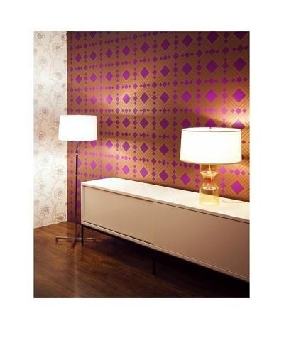Tempaper Designs Diamond Self-Adhesive Temporary Wallpaper