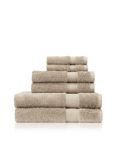 Terrisol 6-Piece Egyptian Cotton Bath Towel Set
