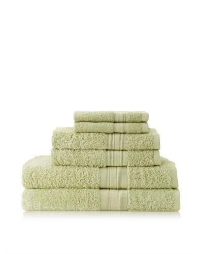Terrisol 6-Piece Towel Set, Grass