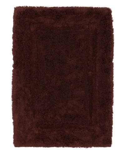 Terrisol Non-Slip Egyptian Cotton Rug [Chocolate]