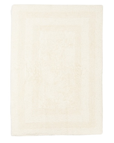 Terrisol Reversible Cotton Bath Rug [Ivory]