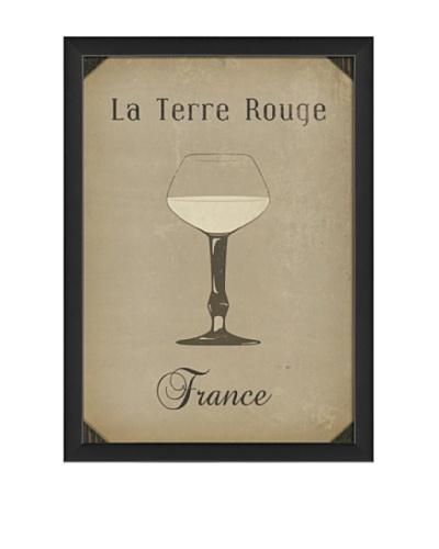 The Artwork Factory European Drink La Terre Rouge Framed Giclée