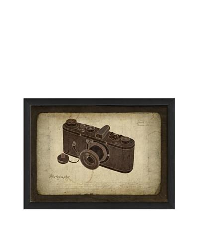 The Artwork Factory Safari Camera Framed Giclée