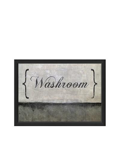 The Artwork Factory Washroom Framed Giclée