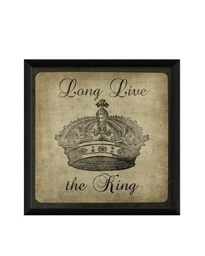 The Artwork Factory Long Live the King Framed Giclée