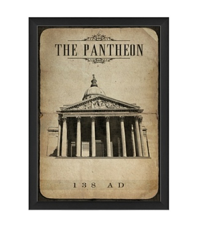 The Artwork Factory European Landmark The Pantheon Framed Giclée