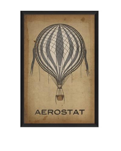 The Artwork Factory Aerostat Balloon Framed Giclée