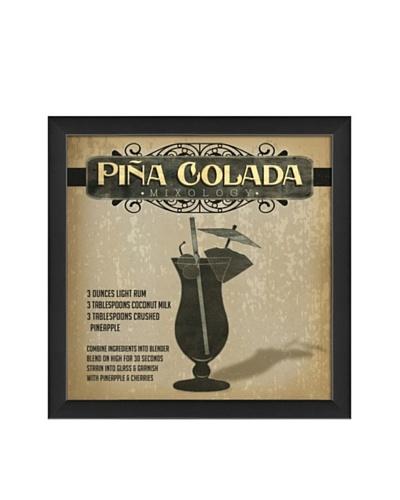 The Artwork Factory Pina Colada Mixology Framed Giclée