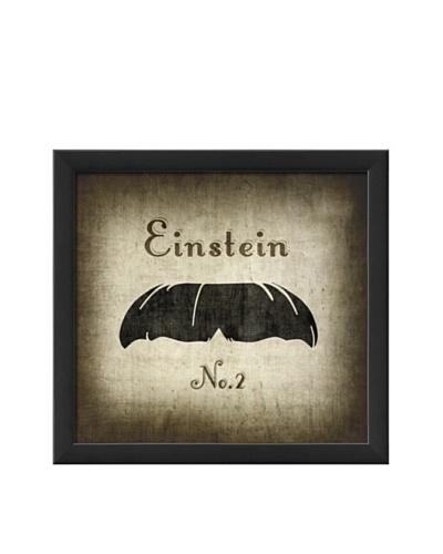 The Artwork Factory Einstein Moustache Framed Giclée