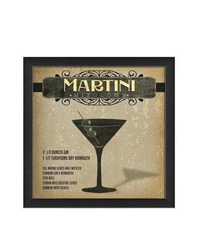 The Artwork Factory Martini Mixology Framed Giclée